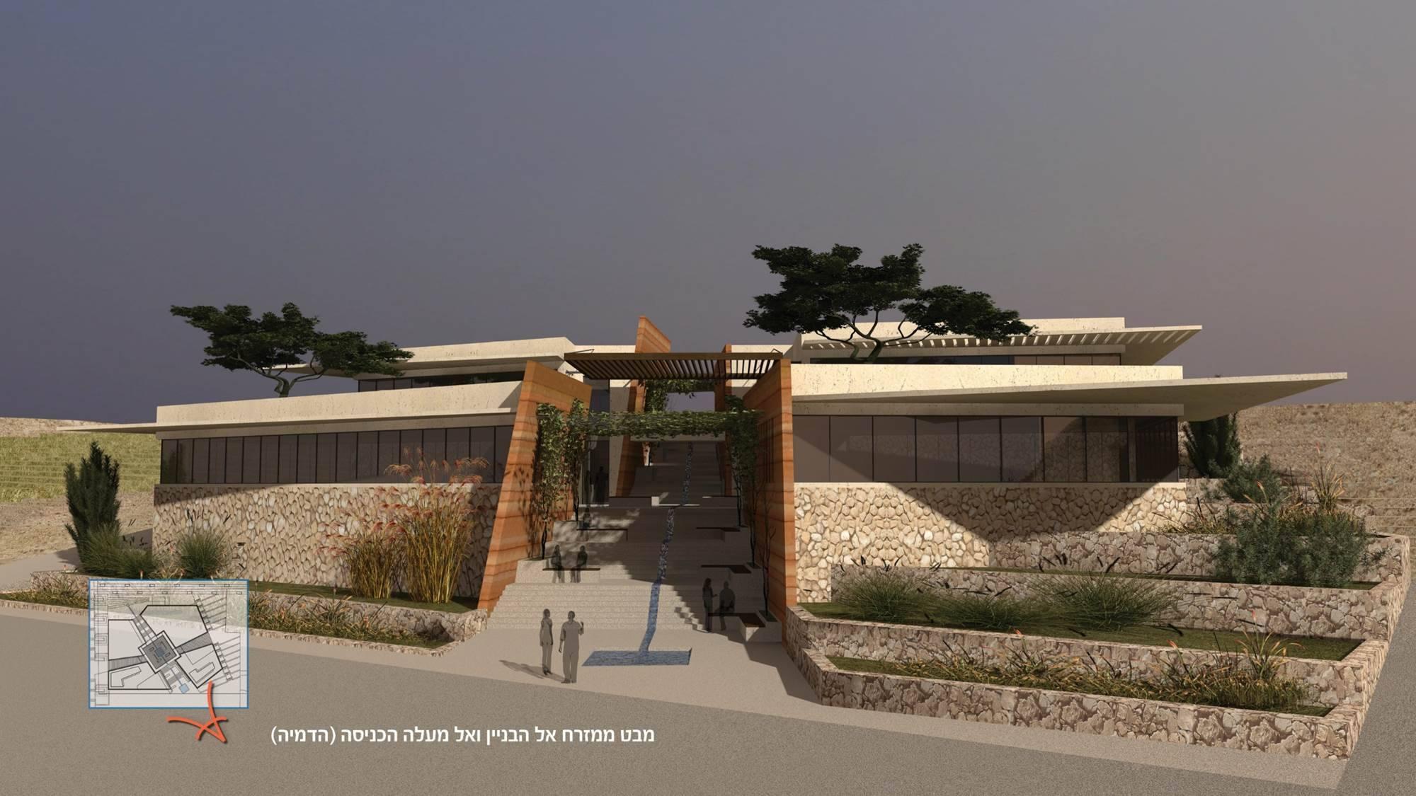 מבנה המועצה החדש - הדמייה